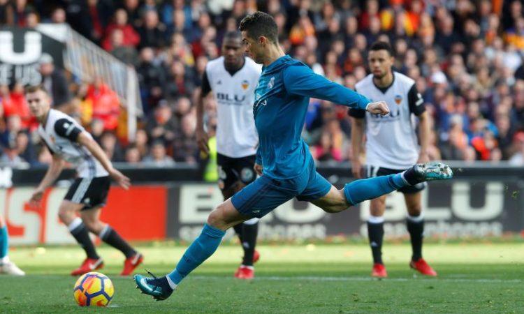christano ronaldo, penalty goal, real madrid,