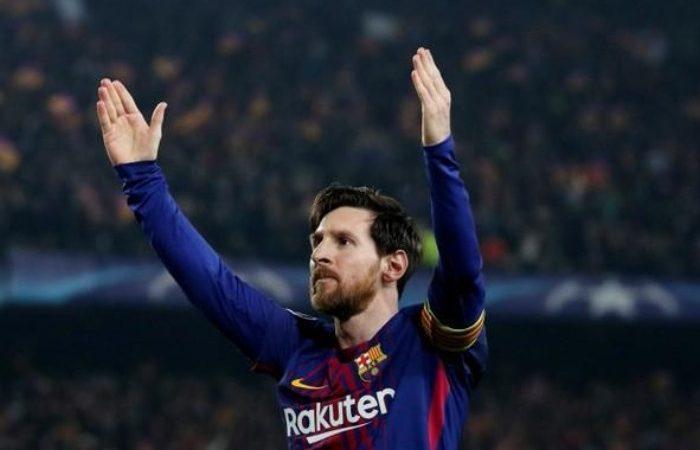 lionel messi, barcelona, champions league, bdsportsnews, bd sports news, nu camp, 100 goal,