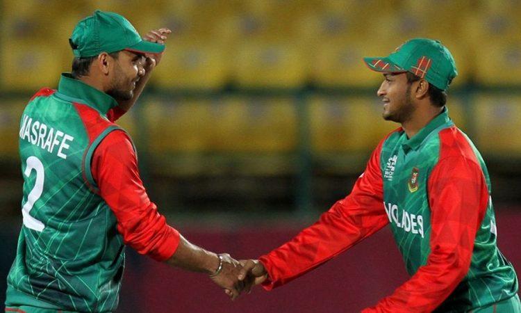mashrafe bin mortaza,,shakib al hasan,bangladesh cricket team,tigers,record,wicket