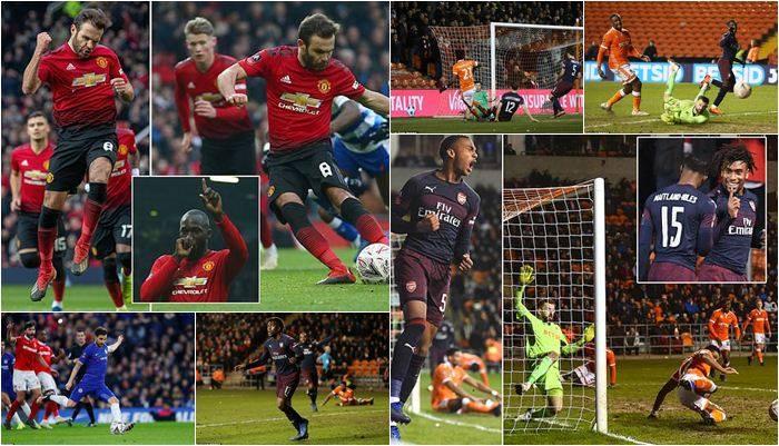 fa cup, manchester united, chelsea, arsenal, football, english league,